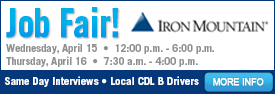 Iron Mountain Job Fair