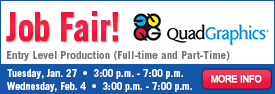 Quad/Graphics Job Fair