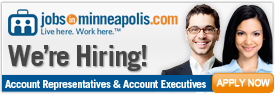 JobsInMinneapolis.com Now Hiring