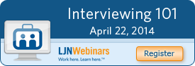 Interviewing 101 Webinar