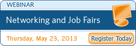 Networking and Job Fairs Webinar