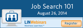 Job Search 101 webinar