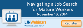 Navigating a Job Search for Mature Workers